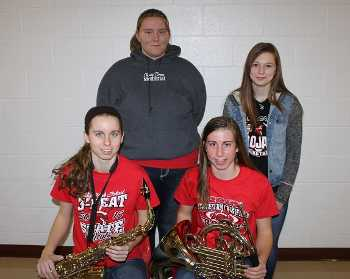Logan sending four students to KMEA Honor Band and Choir